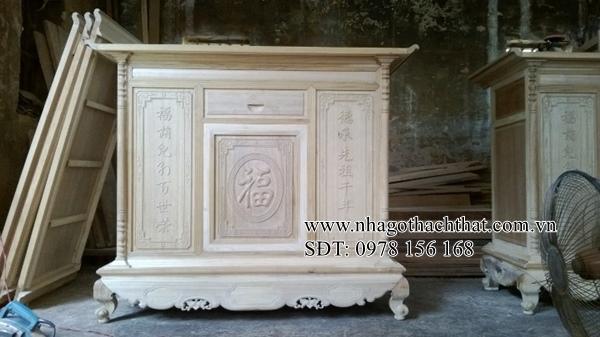 mẫu tủ thờ gỗ gụ đẹp