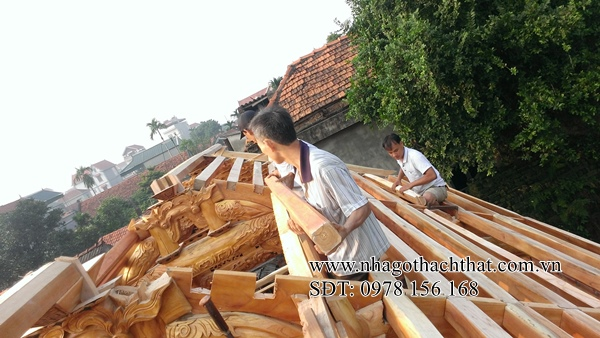 dựng nhà gỗ