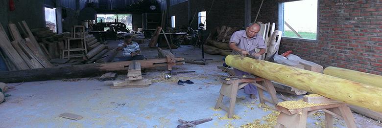 thợ làm nhà gỗ