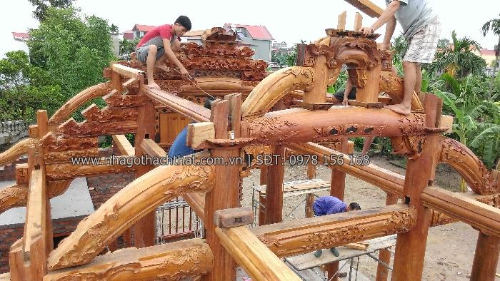 căn nhà gỗ lim 5 gian hải dương