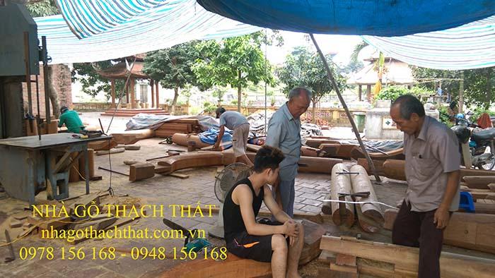 Công trình ngôi Tam bảo – Phượng Trì – thị trấn Phùng – Hà Nội