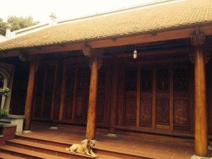 Bí mật đằng sau những ngôi nhà gỗ cổ truyền nông thôn Bắc Bộ