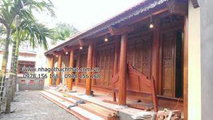 """Điều """"kỳ diệu"""" trong lối kiến trúc nhà gỗ cổ Việt Nam"""