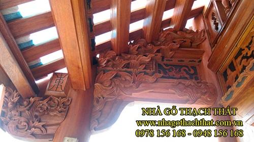 Kiến trúc nhà gỗ cổ truyền và những điều chưa bao giờ được bật mí