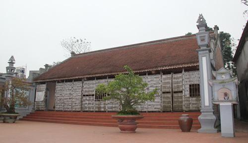 Kiến trúc nhà gỗ kẻ truyền