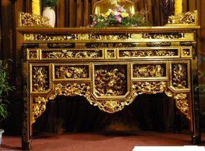 mẫu bàn thờ gỗ đẹp nhất