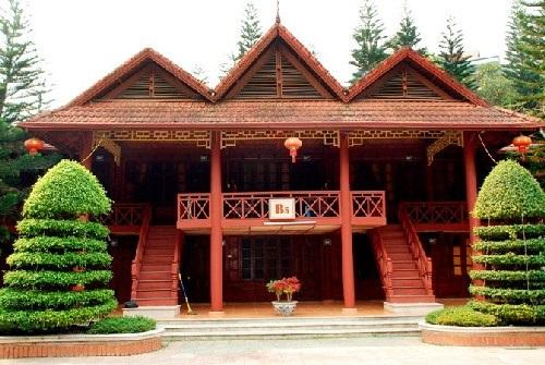 Ngắm nhìn 3 ngôi nhà gỗ mít độc đáo nhất Việt Nam
