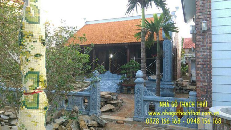 Nhà gỗ lim 3 gian 24 cột – Phù Ninh – Phú Thọ