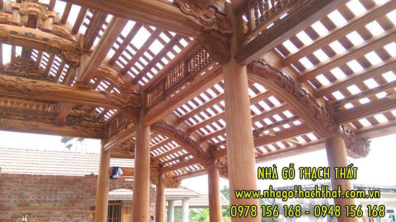 Nhà 3 gian gỗ Lim Nam Phi – xã Hồng Hà – Tiền Hải – Thái Bình