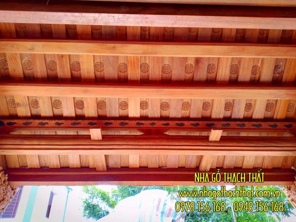 nhà gỗ lim 3 gian phù linh phú thọ