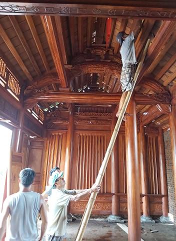 Nhà thờ 3 gian gỗ lim họ Văn tại Tp. Sầm Sơn – Thanh Hóa